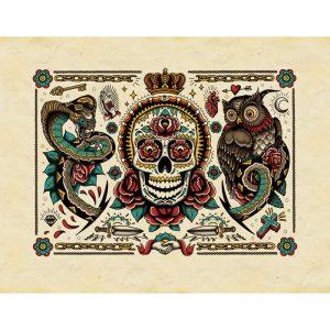 Libro de Tatuajes con Diseños para colorear